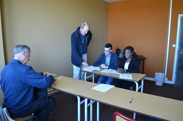 Les bts sp3s en simulation d entretiens d embauche lyc e - Grille evaluation entretien d embauche ...