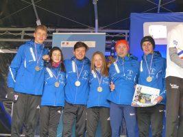 France UNSS cross 2ème équipe mixte site