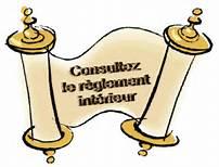 Règlement intérieur de l'internat