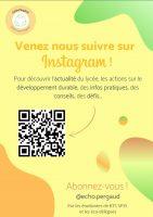 lien à l'affiche compte instagram E3D
